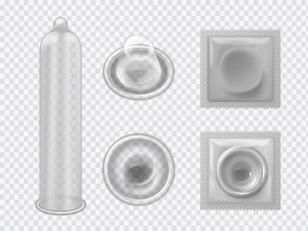 Реалистичный набор презервативов