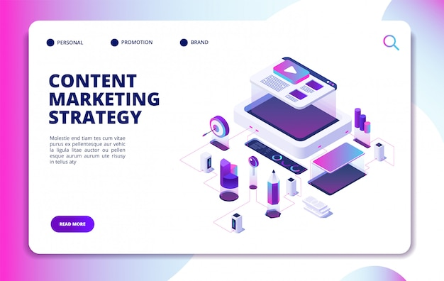 Шаблон сайта для контент-маркетинга