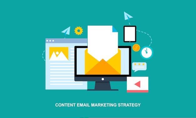 ビジネスブログ、商業ブログ投稿、インターネットブログサービスフラットデザインベクトルイラスト