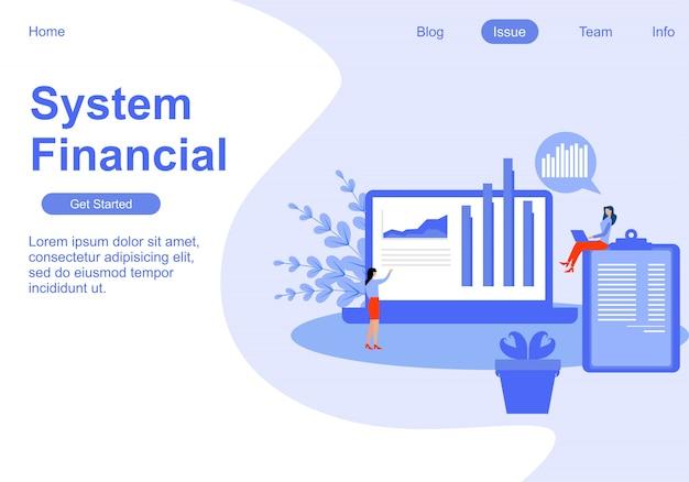 Плоская иллюстрация веб-аналитика