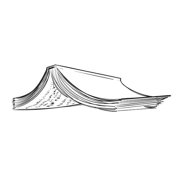 ライフスタイルの概念の手描きのイラスト