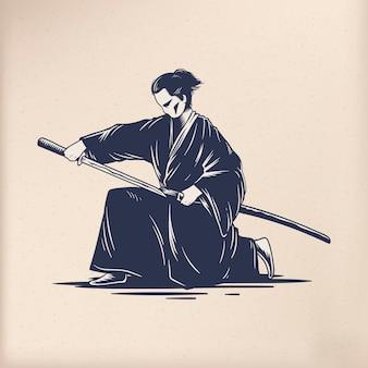 日本の伝統的なスタイルのベクトル