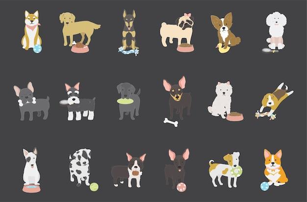 犬のコレクション