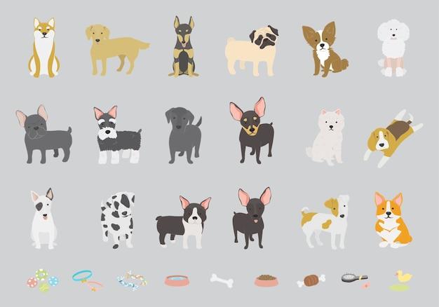 Коллекция собак