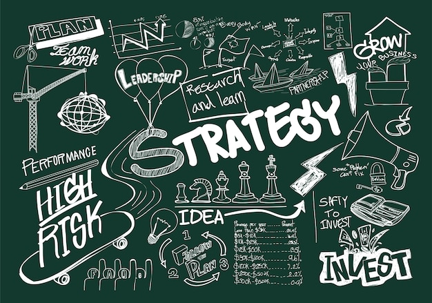 Иллюстрация бизнес-концепции