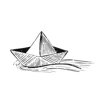 夏とビーチオブジェクトのイラスト