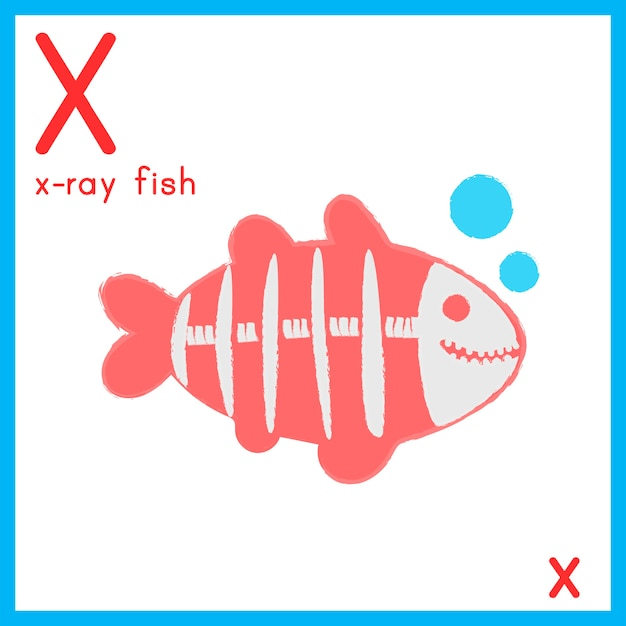 Иллюстрация буквы алфавита с изображением животного