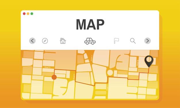 Иллюстрация карты