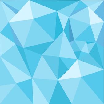 青色の幾何学模様のイラストの背景