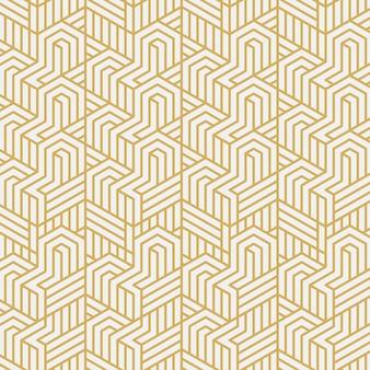 インターレーススタイリッシュなパターンのベクトル図