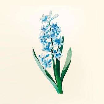 Иллюстрация старинных цветов
