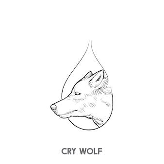 Плачущий волк