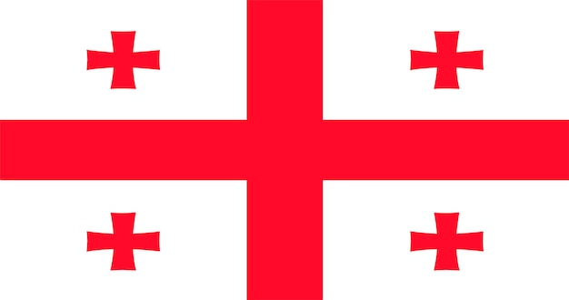 Иллюстрация флага грузии