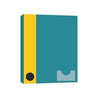 ノートブックアイコンのイラスト