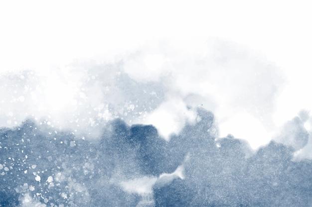 Абстрактный брызнутый акварельный текстурированный фон