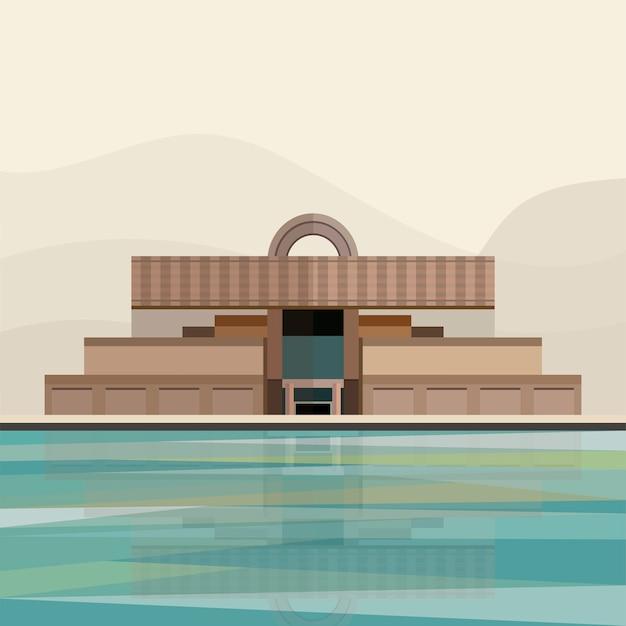 Иллюстрация шанхайского музея