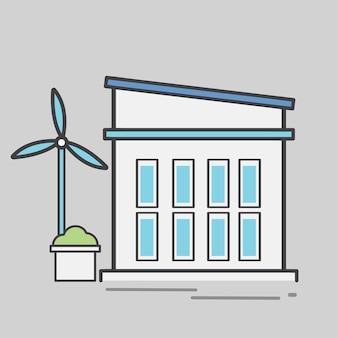 Иллюстрация электростанции