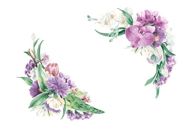 ヴィンテージ花飾り
