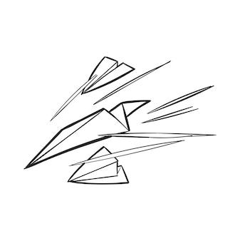 失敗の手描きのイラスト