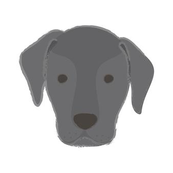 子犬の親友の犬の愛好家の仲間の品種のアイコン