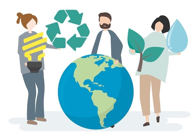 環境保全と世界の保護