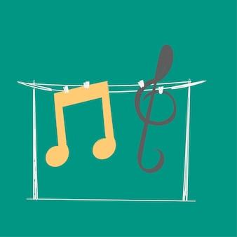 手、音楽、エンターテイメント、概念