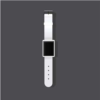 腕時計のスタイリッシュなアイコンのベクトル図