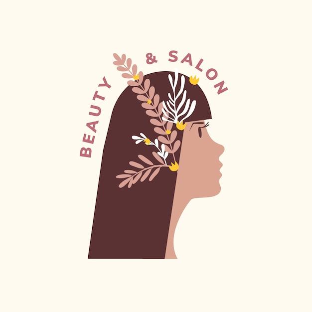 美容とヘアサロンのアイコン
