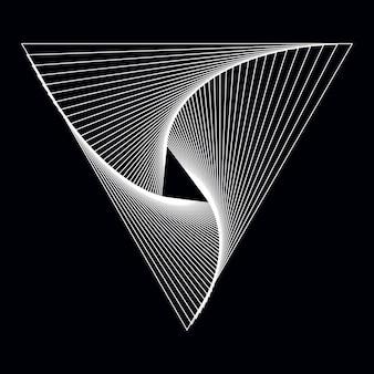 抽象的な動的パターンの壁紙ベクトル