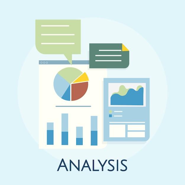 ビジネスグラフ分析の図