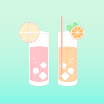 飲料のベクトル