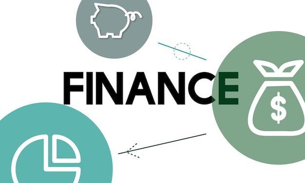 Иллюстрация финансовой концепции
