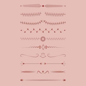 装飾品コレクションのデザインコンセプト