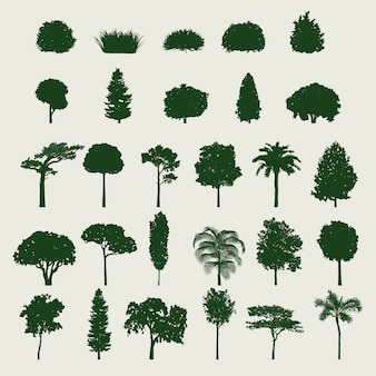 Набор деревьев