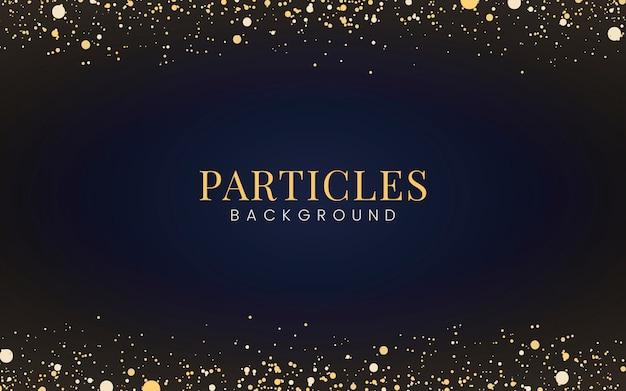 Минимальные обои с декоративными золотыми блестящими частицами