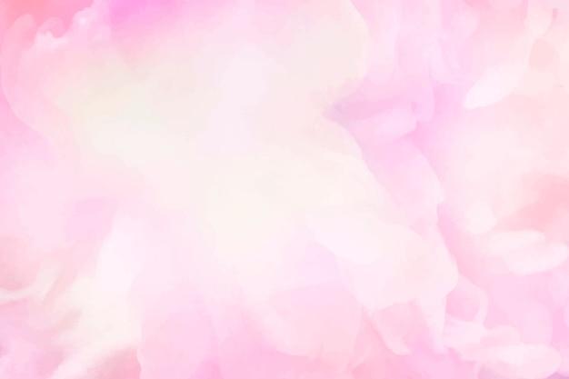 鮮やかなピンク色の水彩画の背景