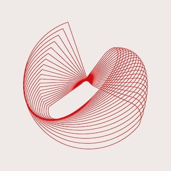 抽象的な円幾何要素ベクトル