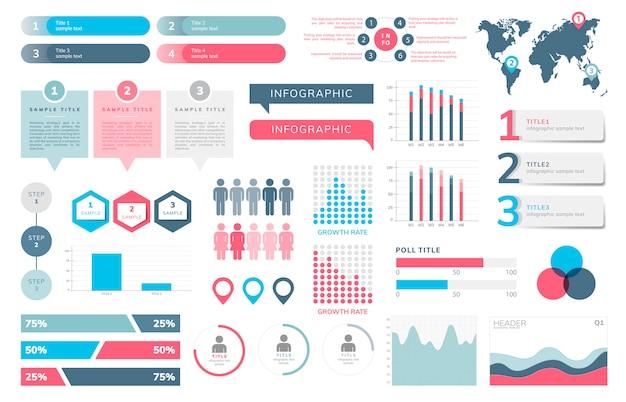 ビジネス情報ベクトルのセット