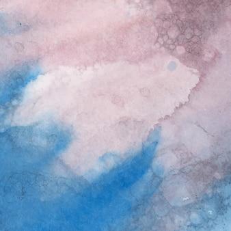 Красочный акварельный абстрактный фон вектор