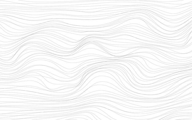 Волновые текстуры белый фон вектор