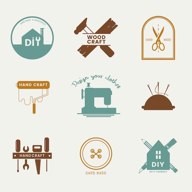 熟練したサービスビジネスのロゴデザイン