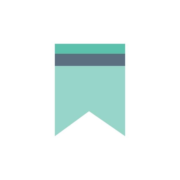 ウェブサイトのブックマークのイラスト