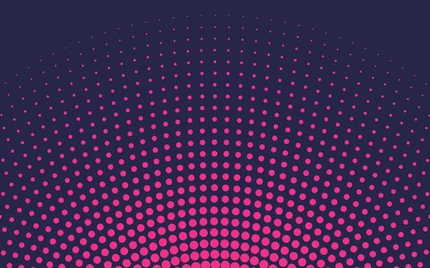 ピンクのグラデーションハーフトーンの背景ベクトル