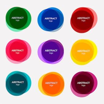 Набор абстрактных дизайнов значков
