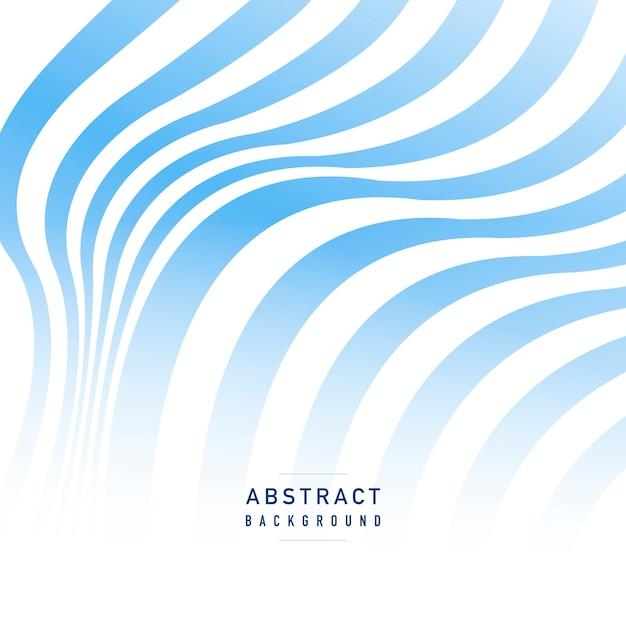 青と白のストライプの抽象的な背景ベクトル