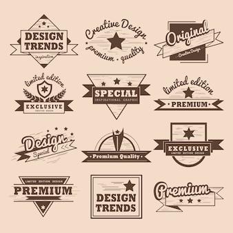 Набор векторных значков высокого качества