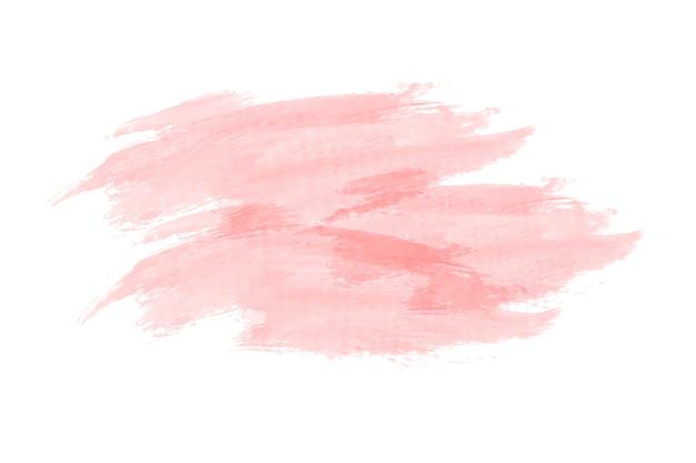 パステル桃の水彩の背景ベクトル