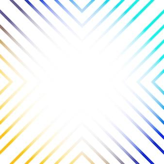 カラフルな線形抽象的な背景ベクトル