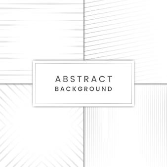 グレー抽象的な背景ベクトルセット