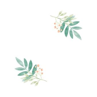 ベリーベクトルと水彩葉